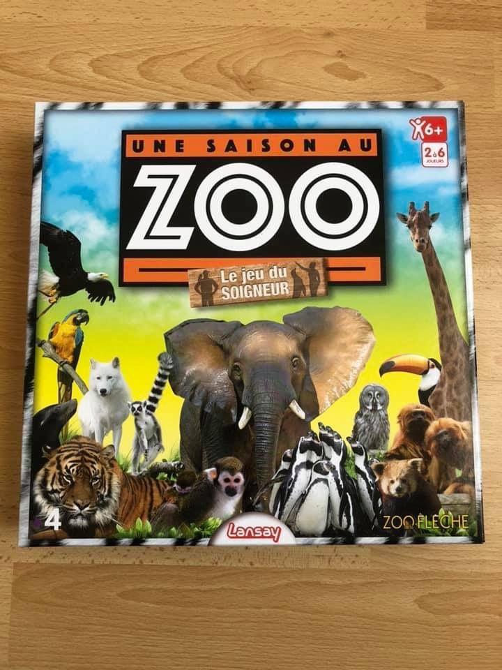 Une saison au zoo Lansay