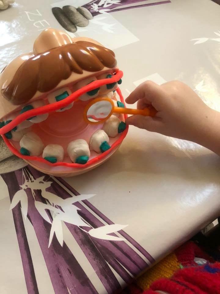 Le dentiste Play-Doh