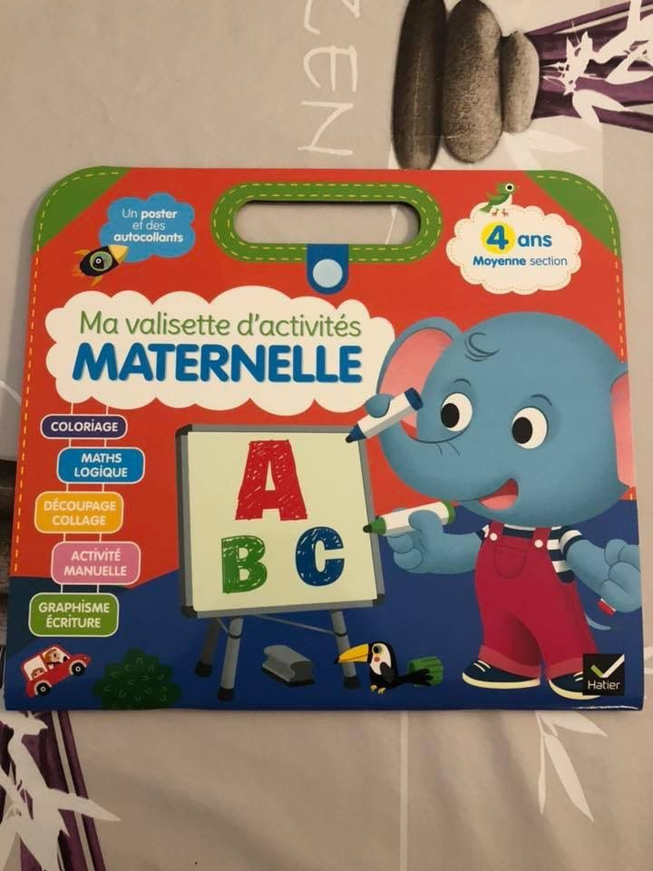 Ma valisette d'activité Maternelle Moyenne section Hatier