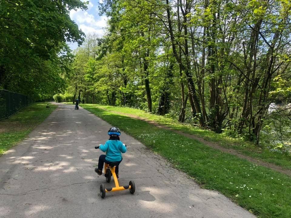 Le parc du château de Méry-Sur-Oise