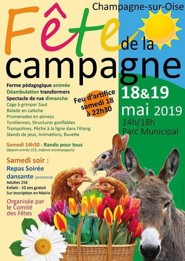 Fête de la campagne Champagne-sur-Oise (95)