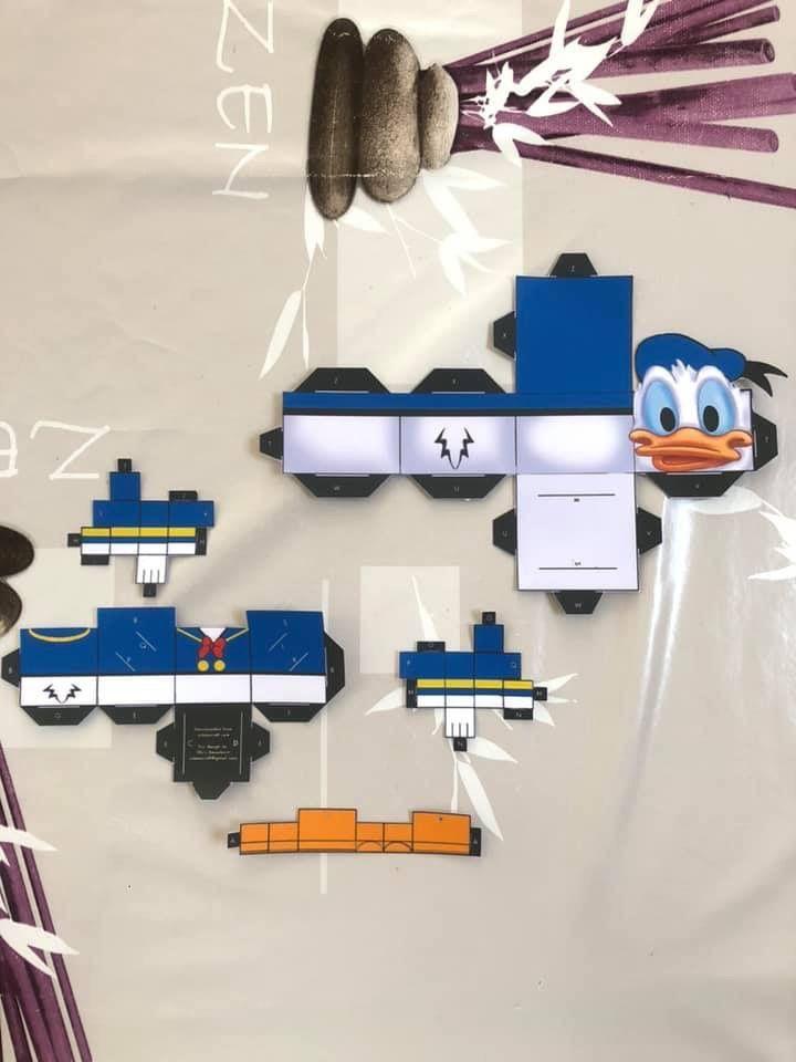 Papertoy Donald