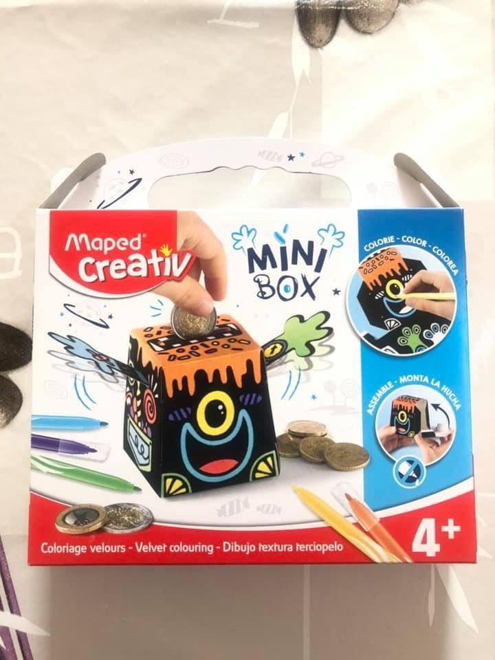 Mini Box coloriage velours Maped