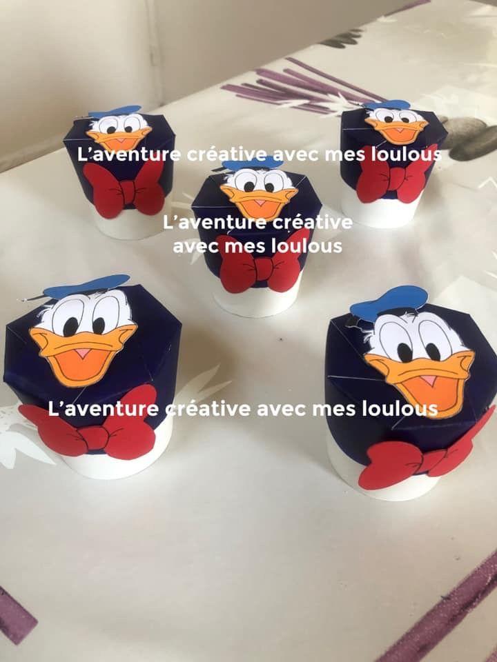 Contenant à bonbons Donald