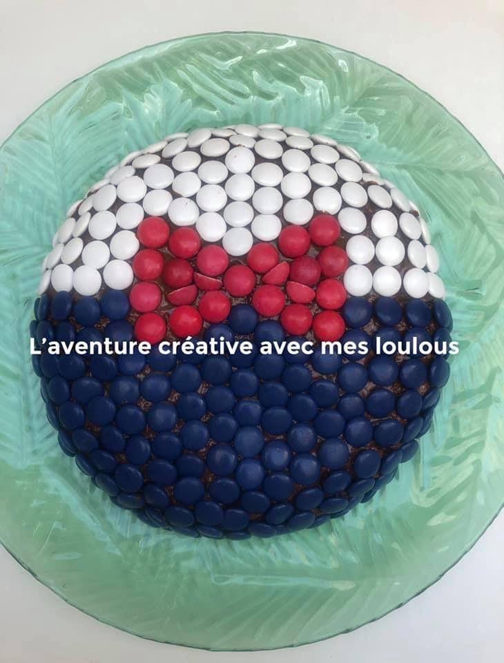 Gâteau d'anniversaire Donald