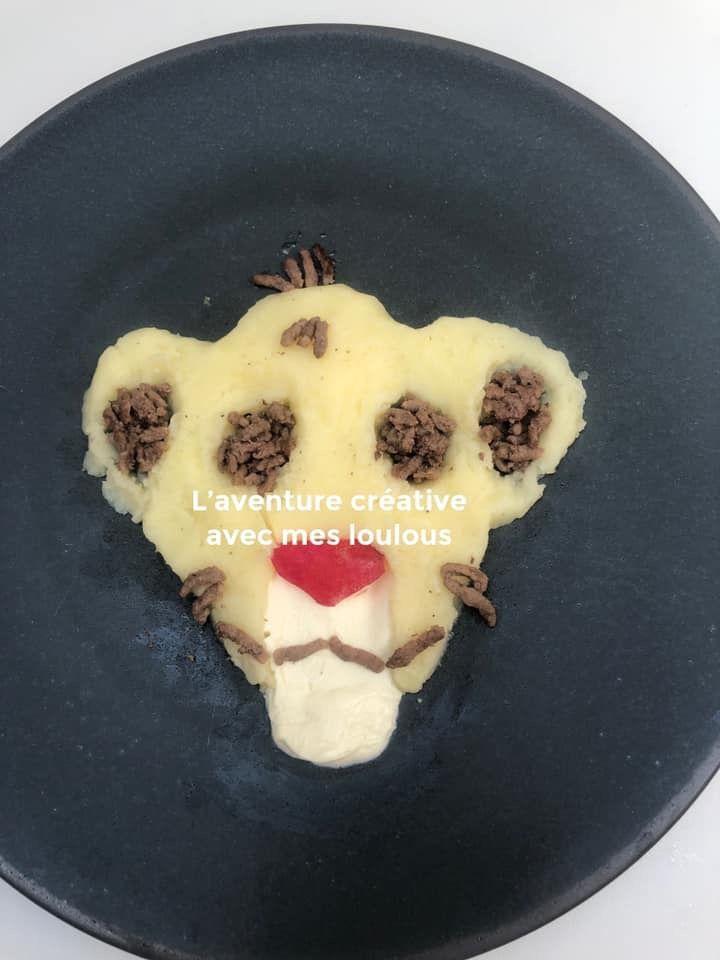 Simba dans l'assiette des loulous
