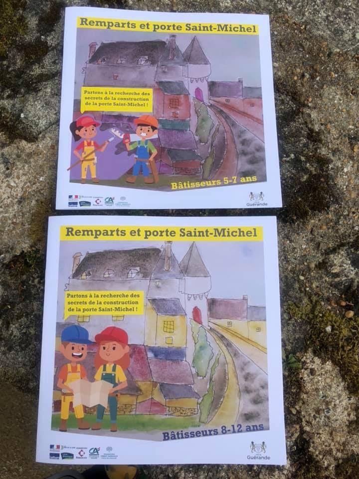 Les remparts et Porte Saint-Michel à Guérande