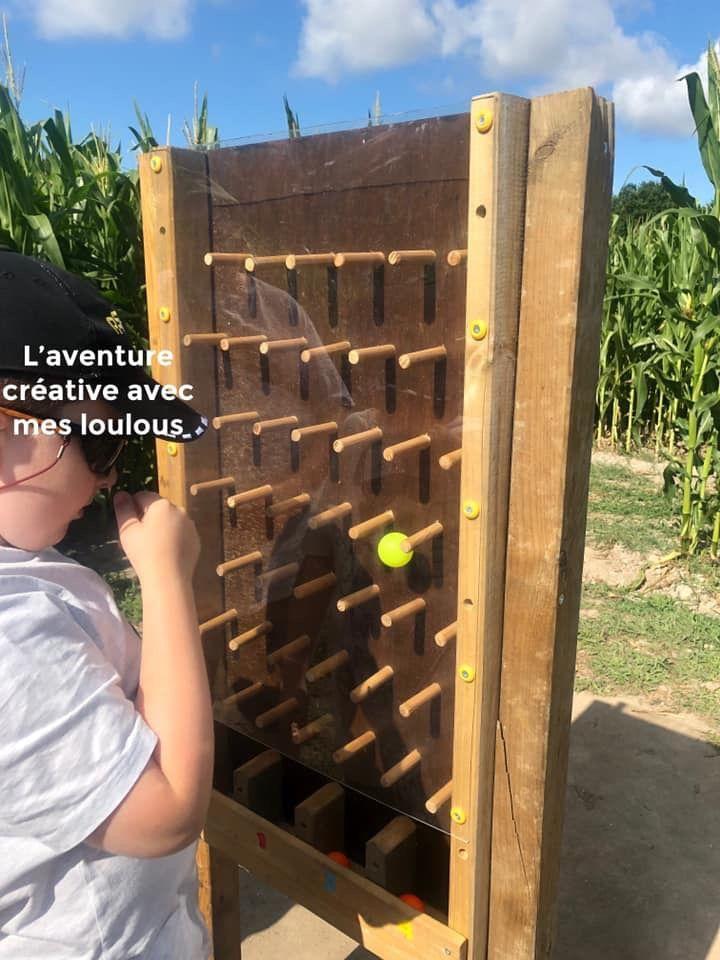 Pop corn labyrinthe à Guérande