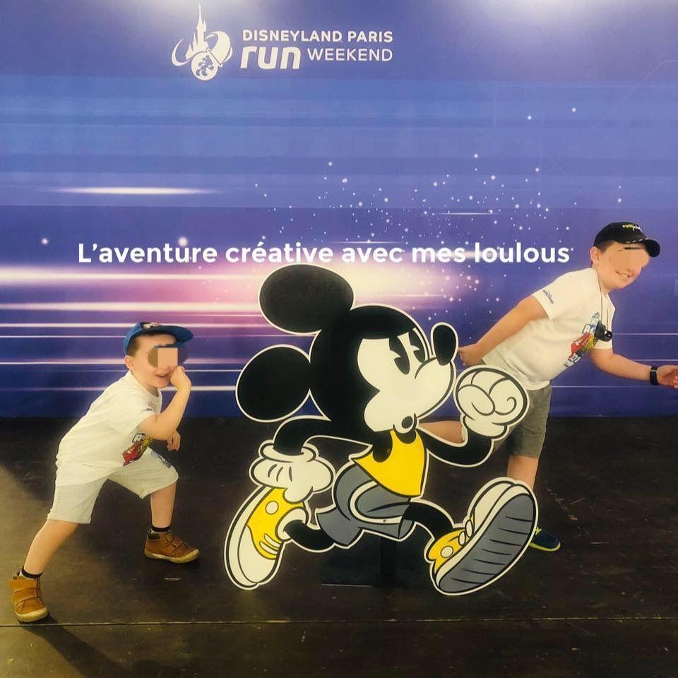 Run Disney Kids Races 200m et 1km 2019