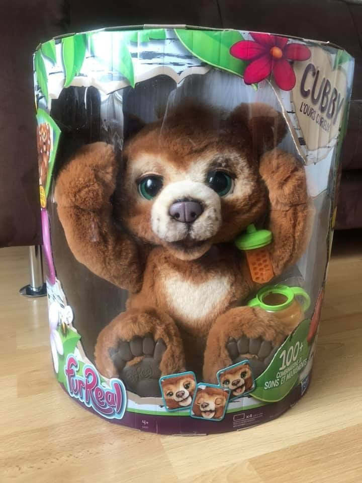 L'ours curieux Cubby Hasbro Maxi Toys