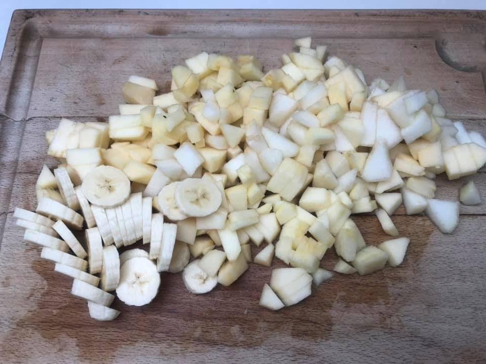 Compote de pommes/poire/banane maison