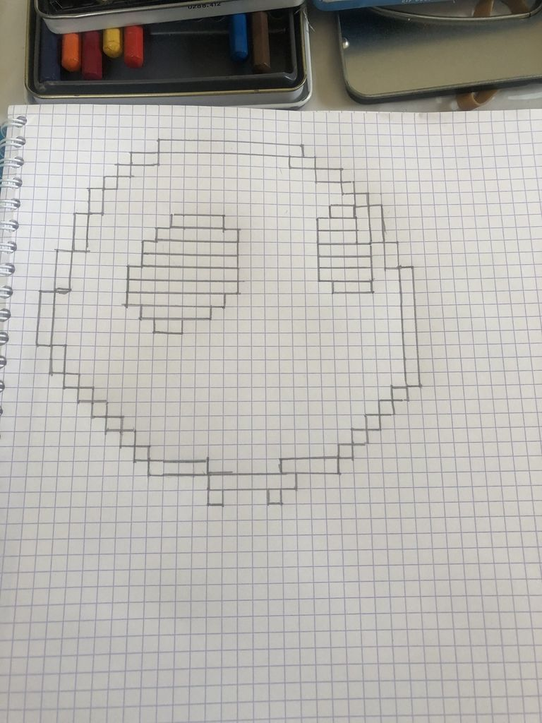 Jack Skellington en pixel art