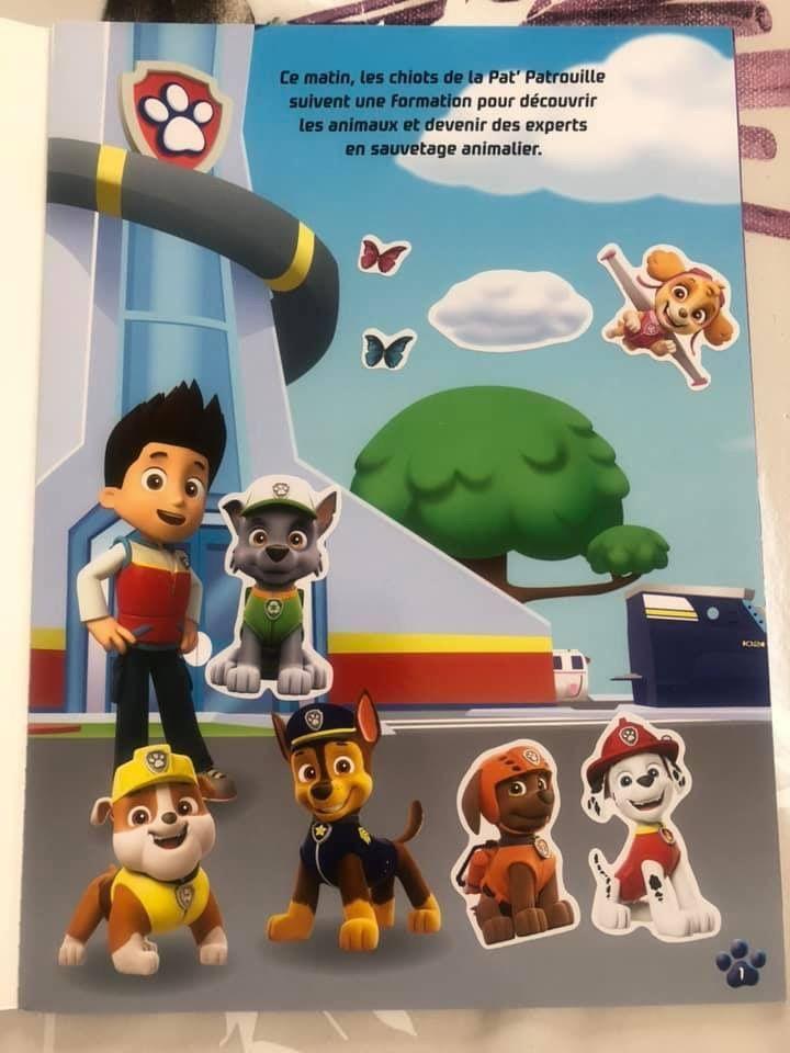 La Pat Patrouille À la découverte des animaux Hachette Jeunesse