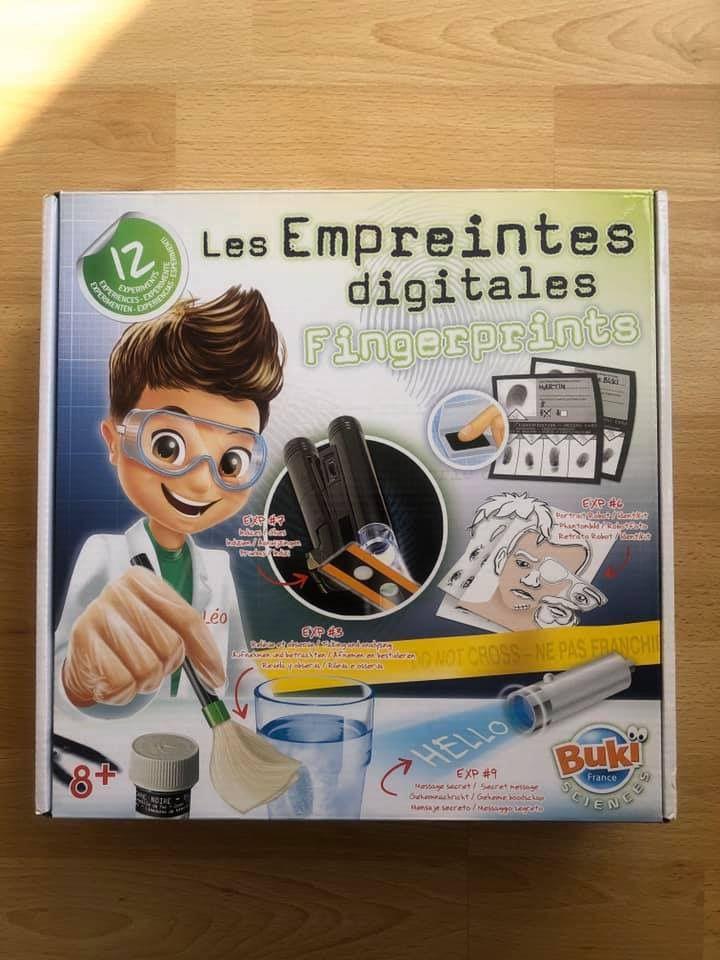 Les empreintes digitales Buki France