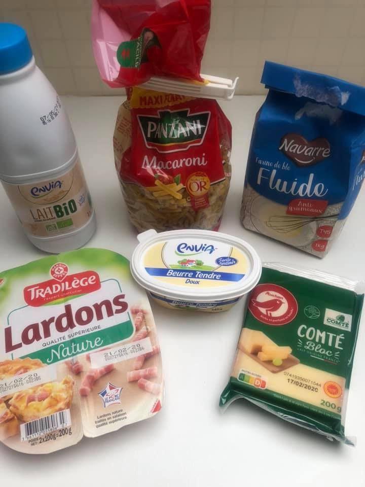 Mac and cheese comté et lardons