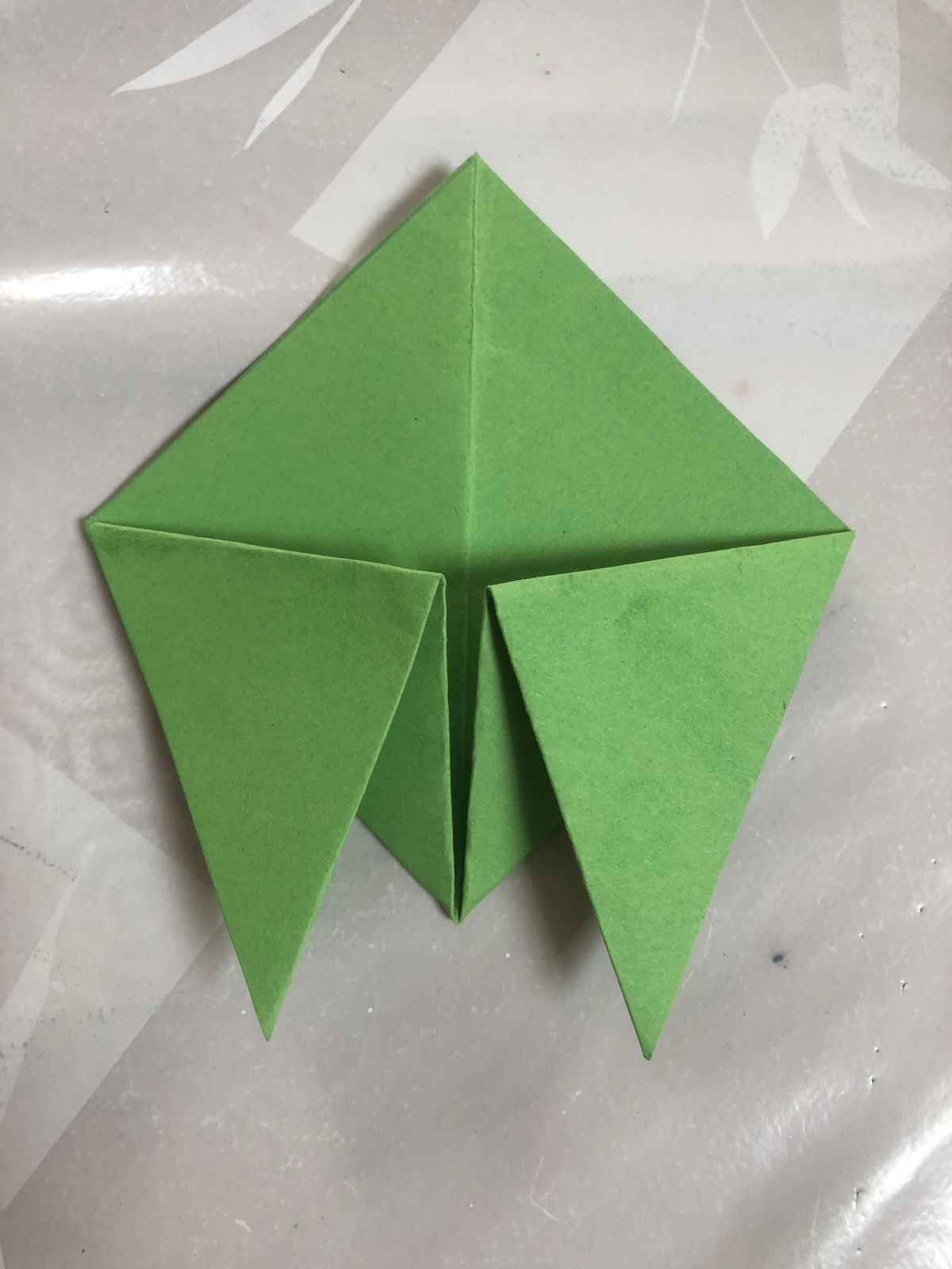 Course d'origamis