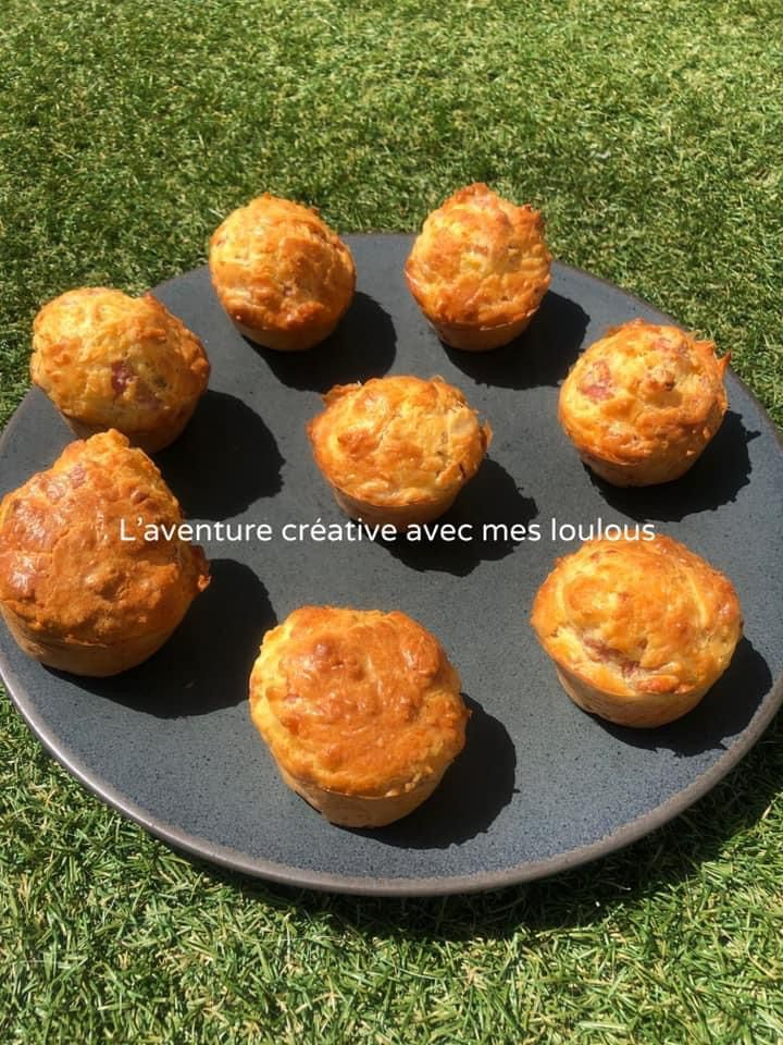 Muffins jambon/fromage