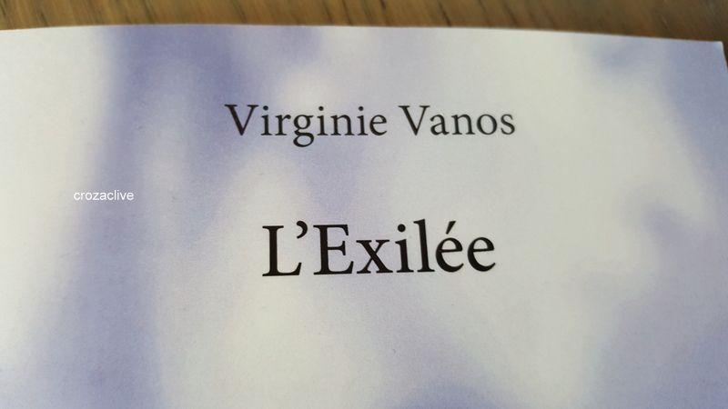 L'Exilée de Virginie Vanos