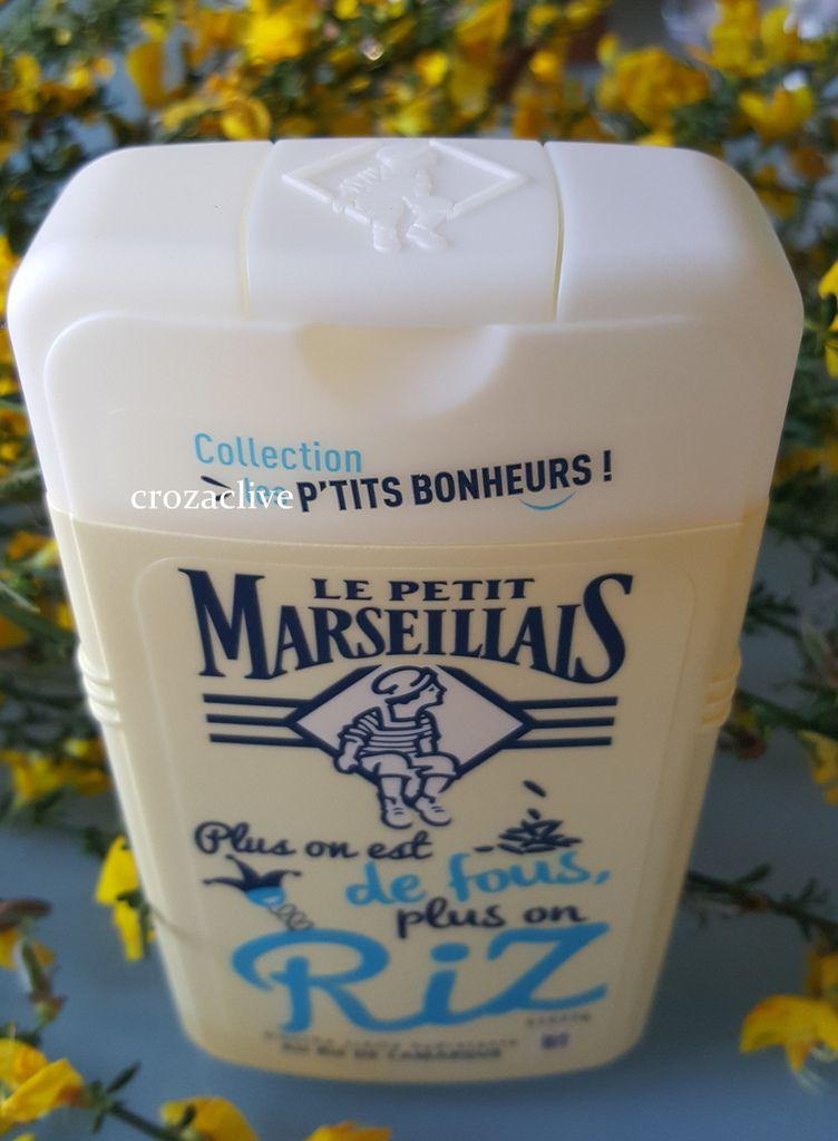 Gel douche miel et douche hydratante Riz, Le petit Marseillais avis