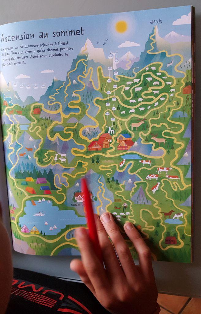 Le Grand Livre des Labyrinthes Tour du Monde, Editions USBORNE