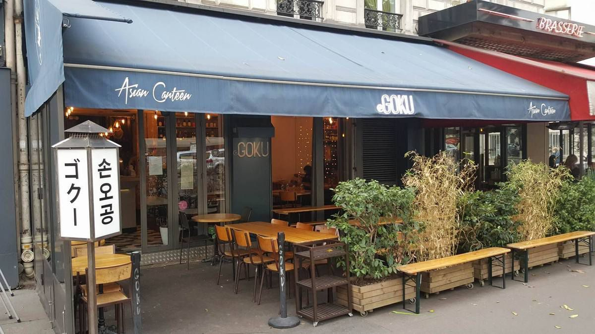 GOKU Asian Canteen, restaurant Paris 3ème, meilleur burger 2017