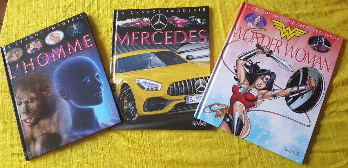 {concours} Les nouveautés des Editions Fleurus : Mercedes, L'Homme et Wonder woman