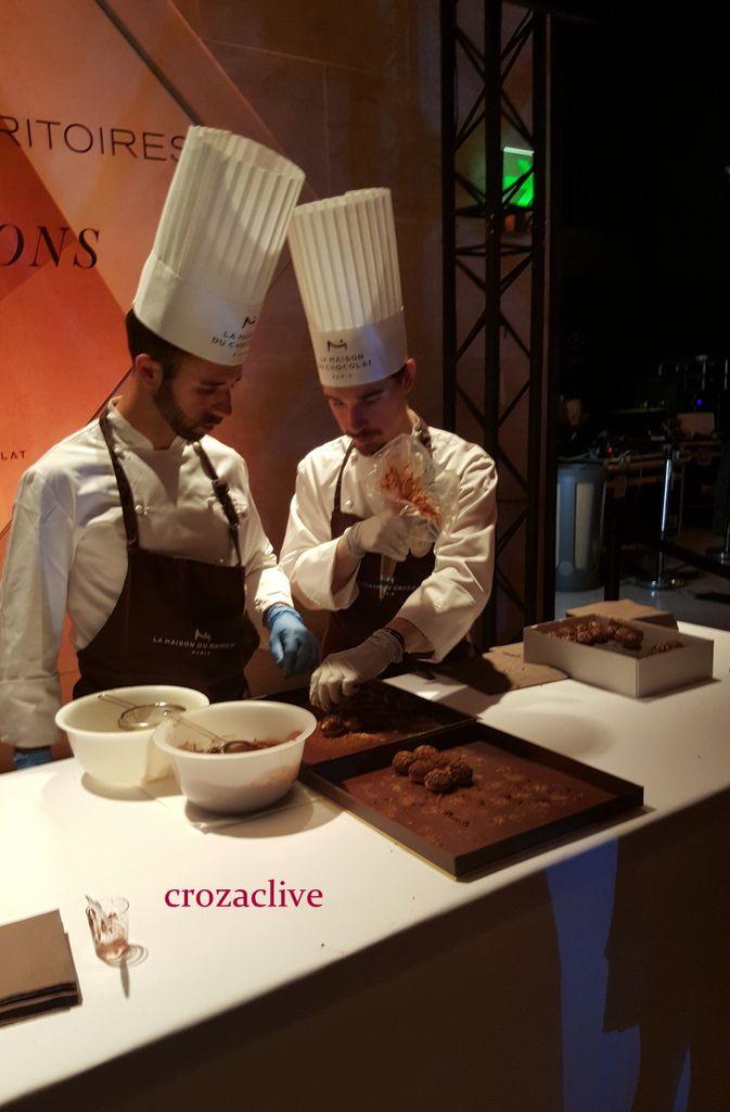 {vidéo} Anniversaire : 40 ans de la Maison du Chocolat, Carroussel du Louvre Paris 1