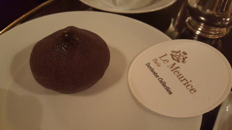 Presque un Tea Time dans le majestueux Palace***** Le Meurice