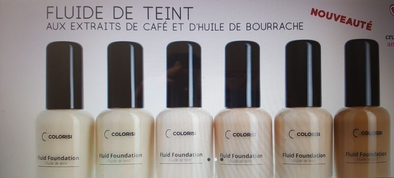 Un maquillage-soin naturel à base de café COLORISI