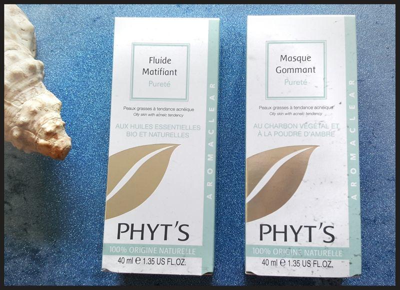Aromaclear, la nouvelle gamme pour peaux grasses de Phyt's
