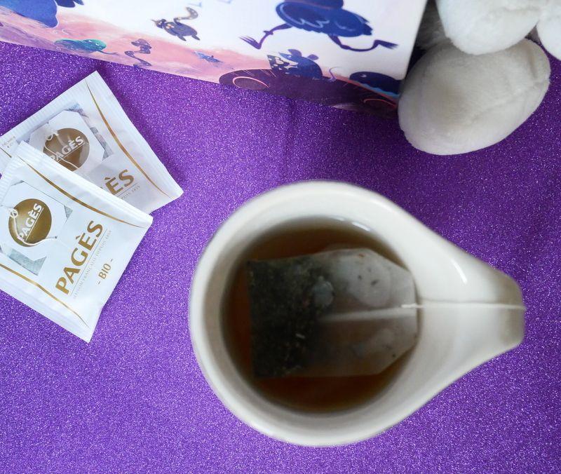 Le nouveau thé blanc Mauve PAGES