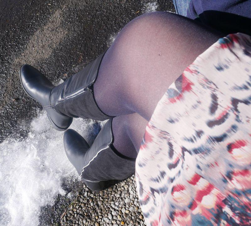 Mes nouvelles bottes Cendriyon....