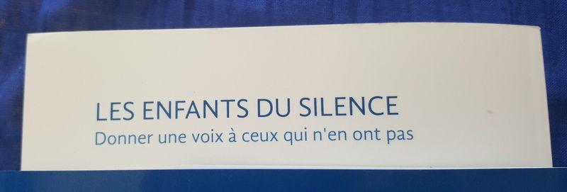 Les enfants du silence, Céline Boussié
