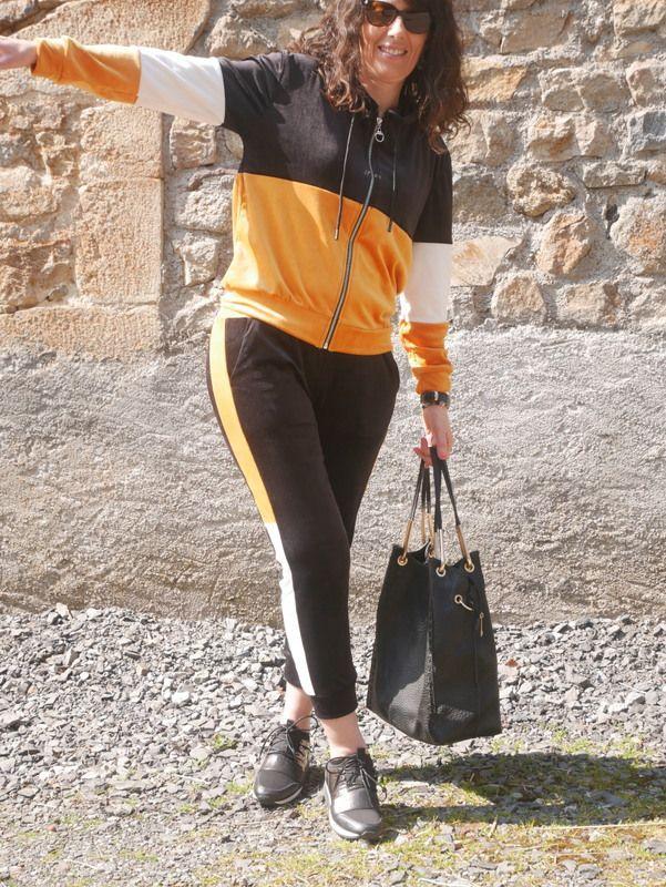 En jogging avec Cinelle Boutique