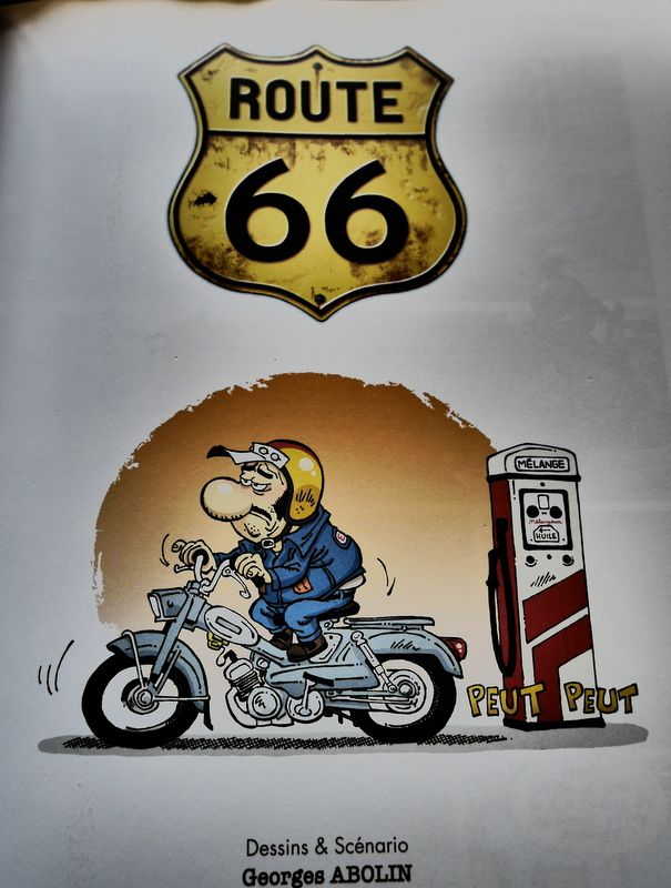 """""""Route 66"""", Un road-trip à moto avec les Editions BAMBOO"""