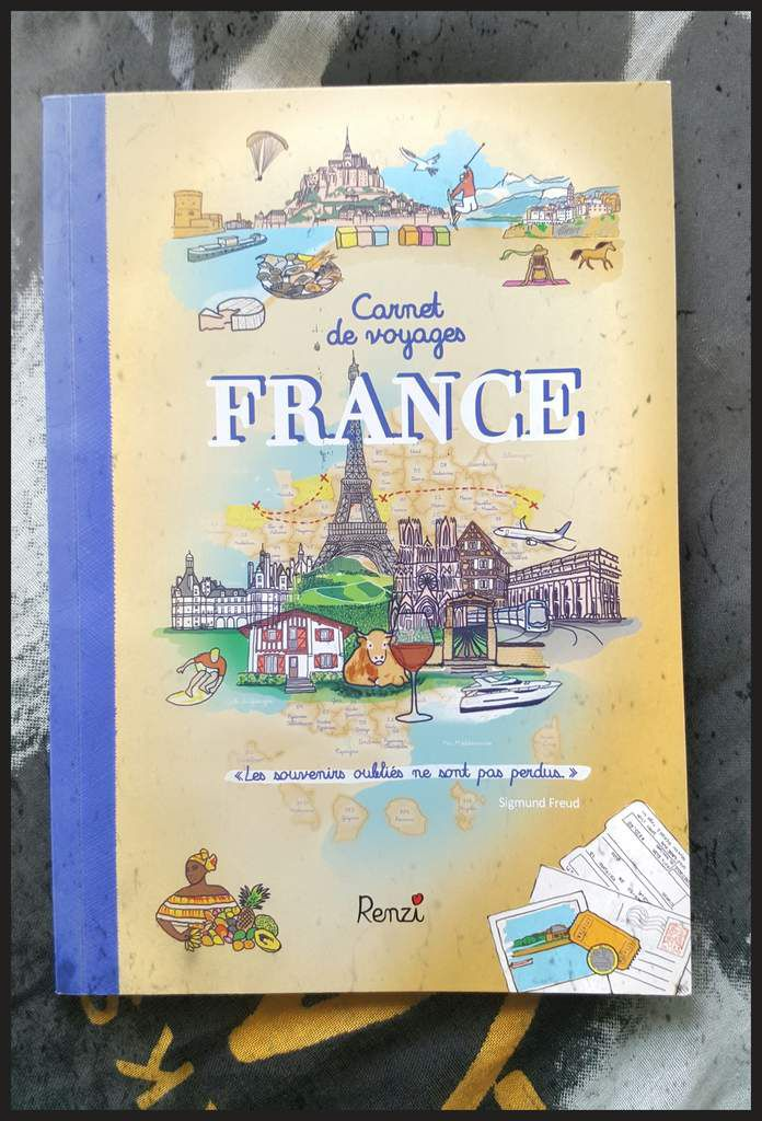 Carnets de voyages France - Renzi Editions