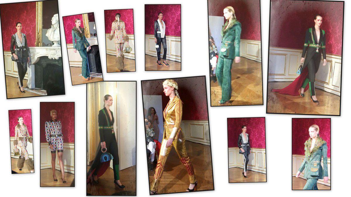 Défilé Patrick Pham automne/hiver 2020 Couture Paris