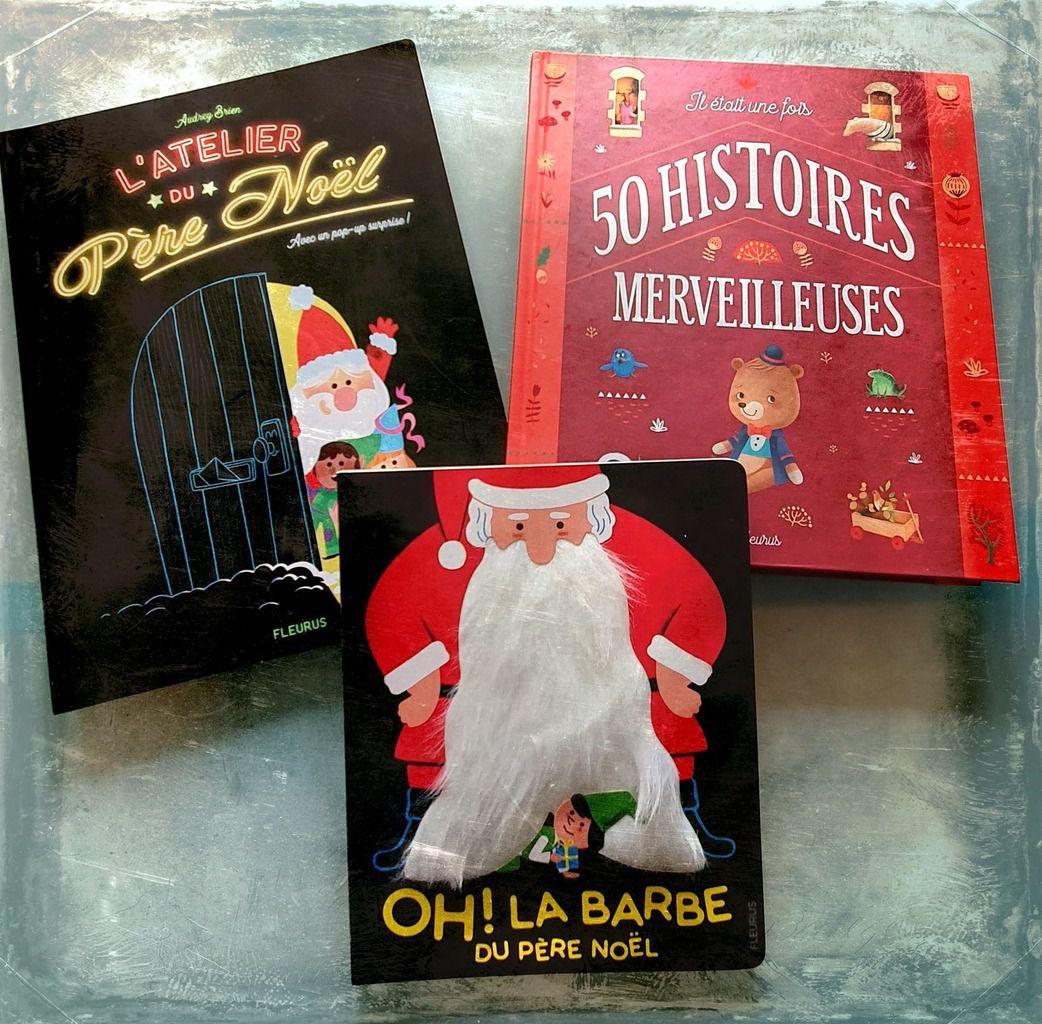 Les livres du Père Noël avec les Editions FLEURUS