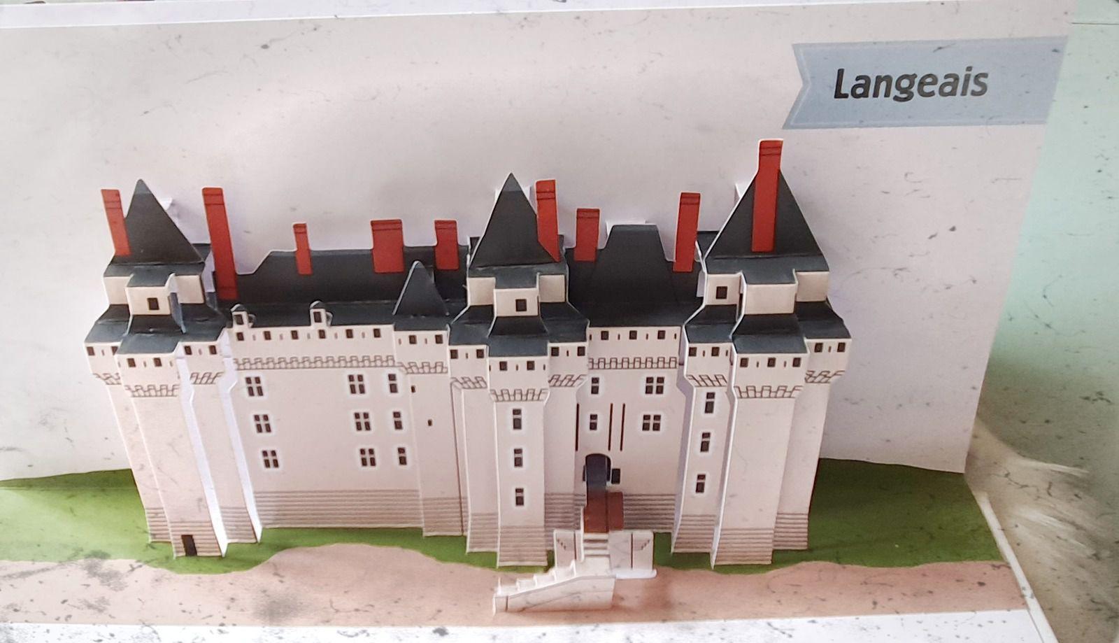 Les Châteaux de la Loire, tout en Pop-up....