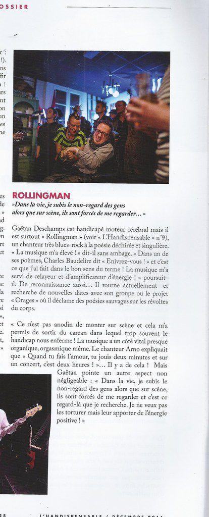 Crédit photo Jeoffrey Guillemard magazine Handispensable Décembre 2016