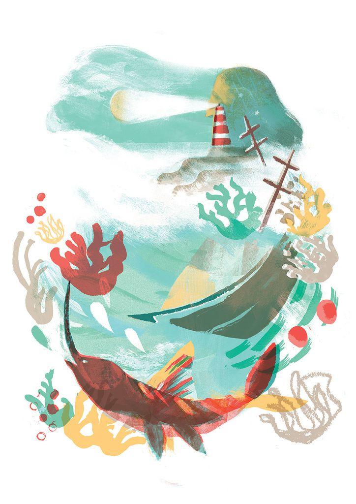 L'homme qui voulut peindre la mer - Tristan Koegel