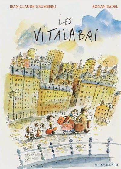Les vitalabri / Jean-Claude Grumberg, ill. Ronan Badel - Actes Sud Junior