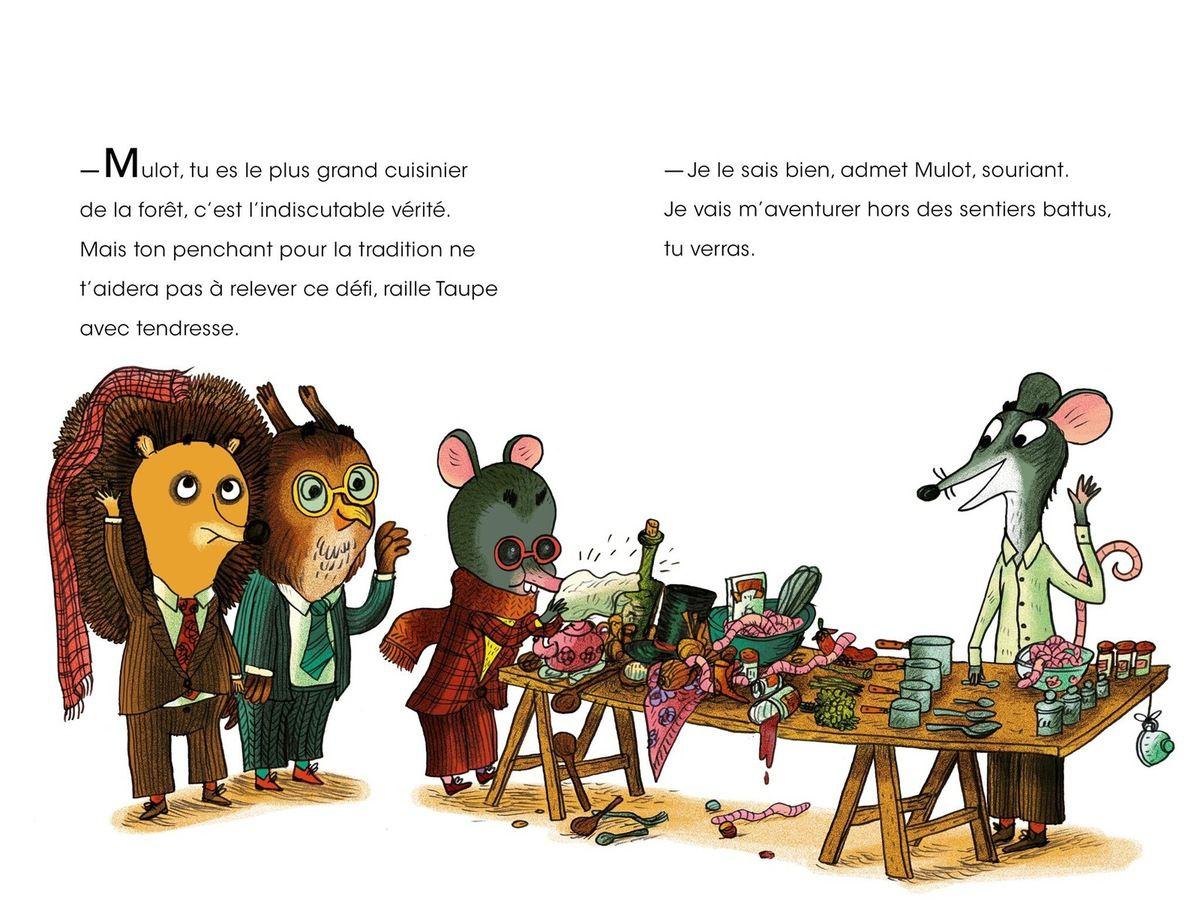 Taupe et Mulot : la tarte aux Lombrics / Benjamin Chaud et Henri Meunier
