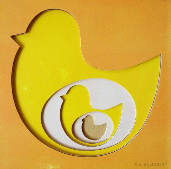 [DES LIVRES POUR LES BÉBÉS] Des poules et des œufs / Kalioujny - Thierry Magnier