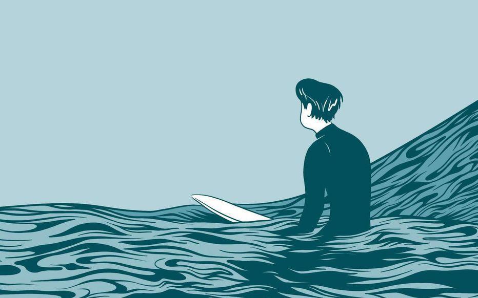 In Waves / Aj Dunjo - Casterman