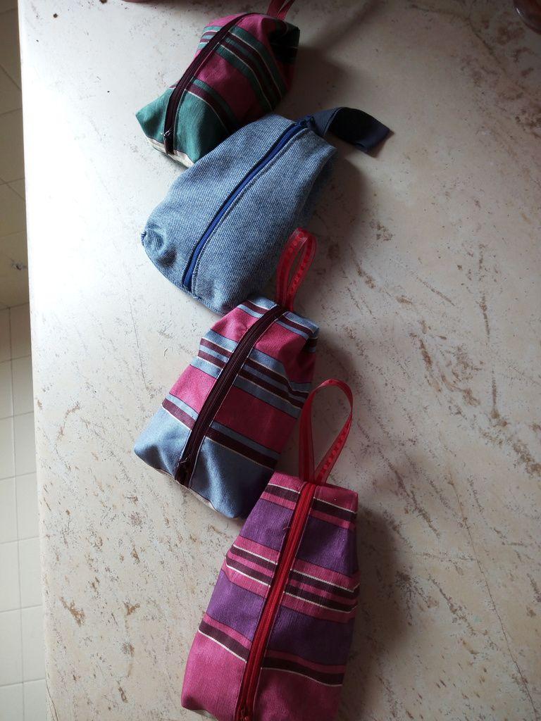 de petits sacs pour différentes utilisations...Que vous retrouverez en vente le 24/11/2018 à Pleuven