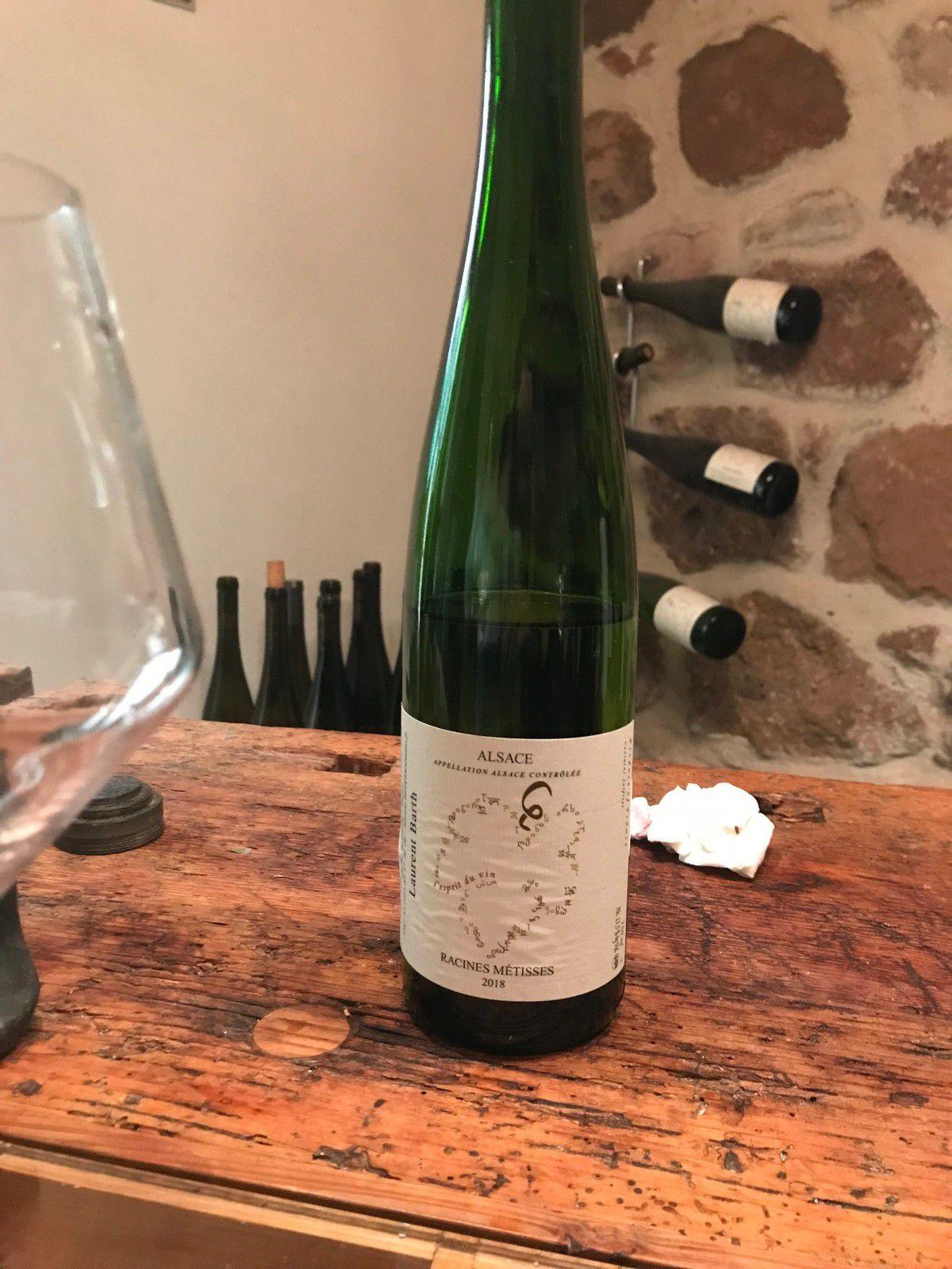 Vins, Laurent Barth, Alsace, Racines Métisses, Bennwhir