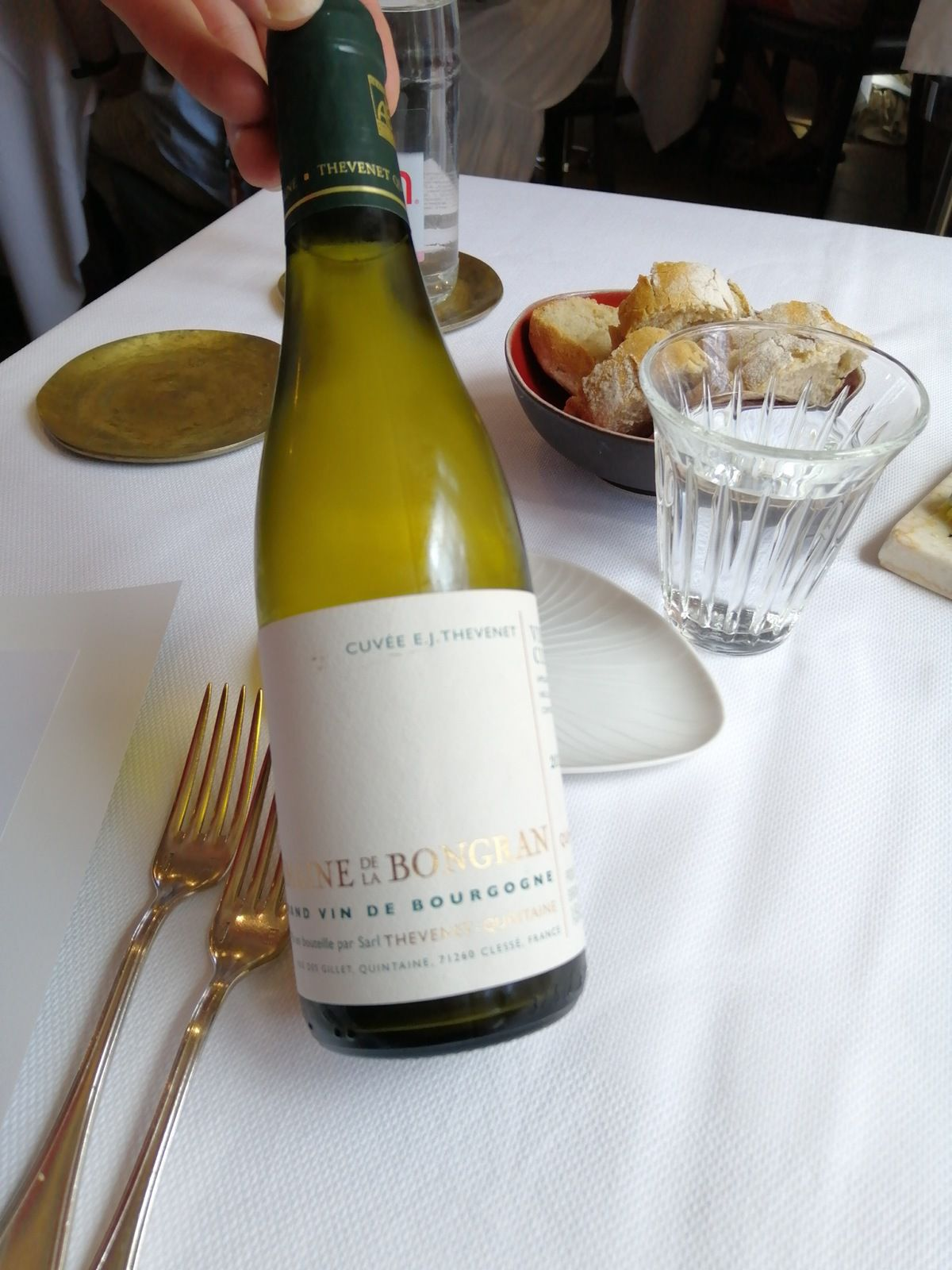 Viré-Cléssé 2015 grand vin de Bourgogne Domaine de la Bongran