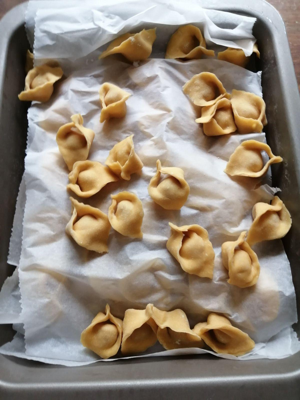 Recette tortellini faits maison