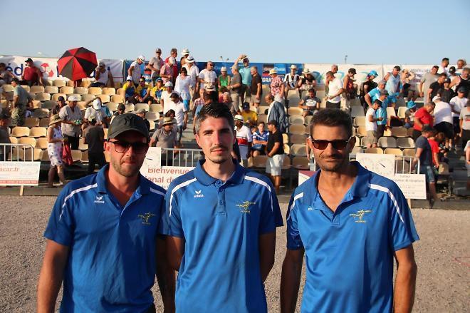 Vainqueurs National Chalon 2019 : Jérémy NAUDOT, Morgan BOUBIN et David DEFOSSE. Finale sans suspense, puisqu'en 1 heures 15 tout était plié !